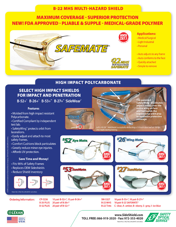 Safety Optical Service Brochure