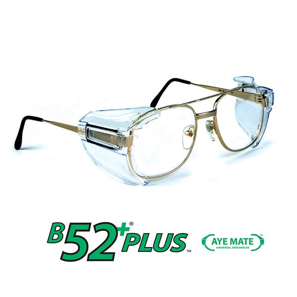 b26 side shields for rx glasses safety eyewear eye